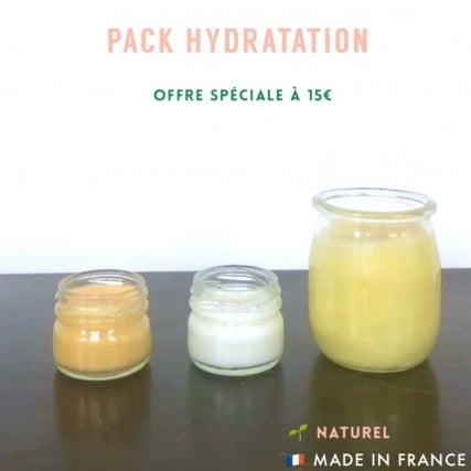 Pack cosmétique hydratation